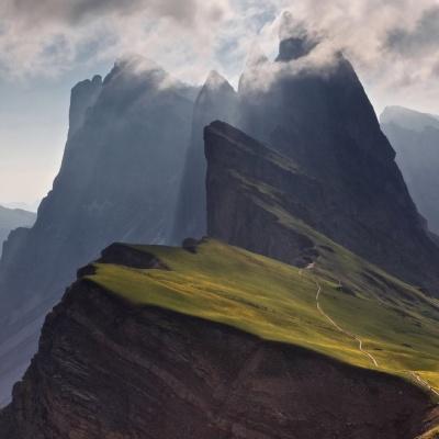 Garni Rives a Ortisei nelle Dolomiti in Alto Adige, Italia